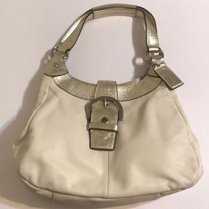 Just in!🆕💯% COACH Leather SoHo Lynn Hobo